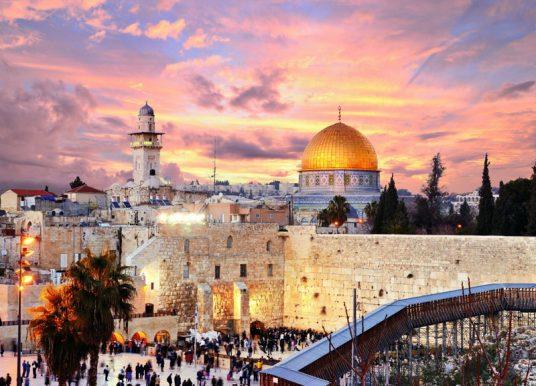 """Video con sonido de """"trompetas"""" en Jerusalén se viraliza"""